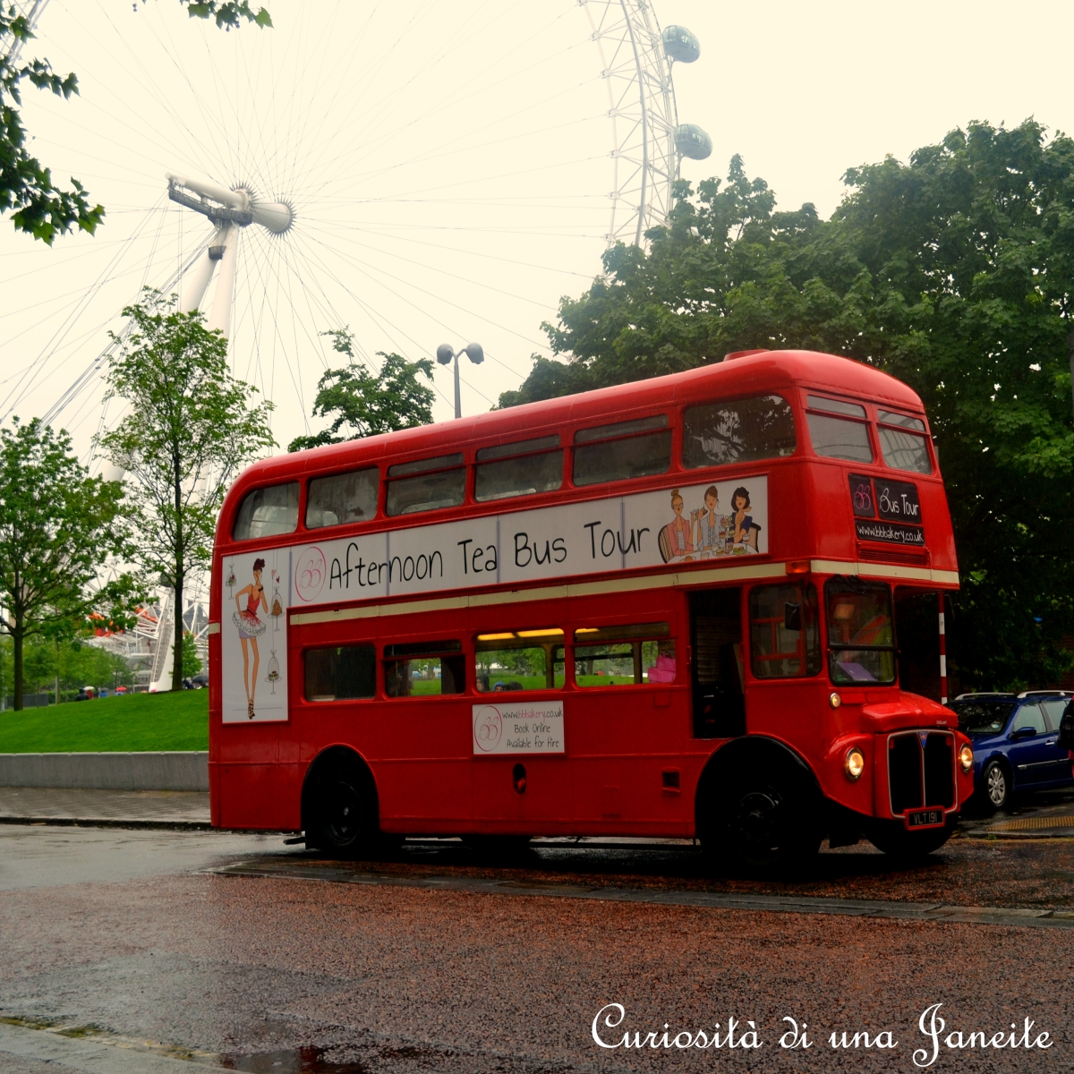 Tour di Londra sull'Afternoon Tea Bus ♥