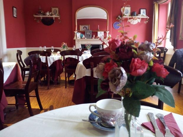 Tea Room of the Jane Austen Centre, Bath