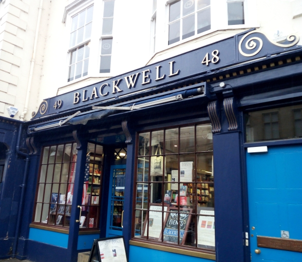 Blackwell's bookshop in Oxford