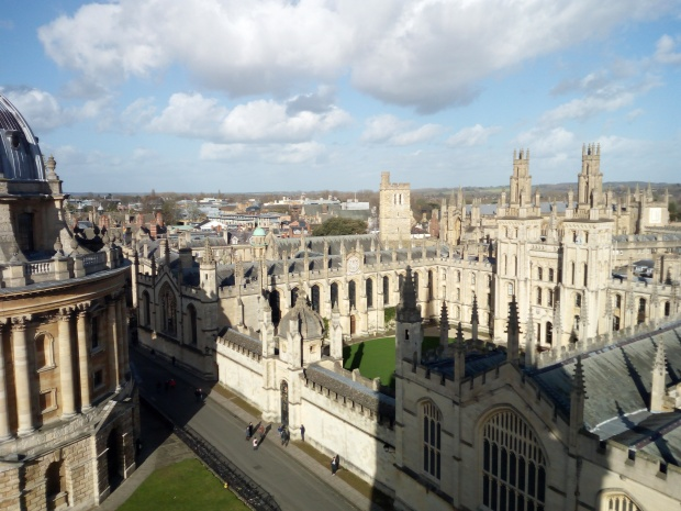 View from the Tower of the University Church of St. Mary the Virgin - Oxford