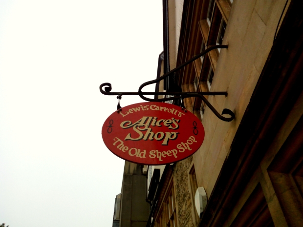 Alice's Shop in Oxford