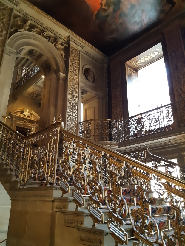 Staircase in Chatsworth House