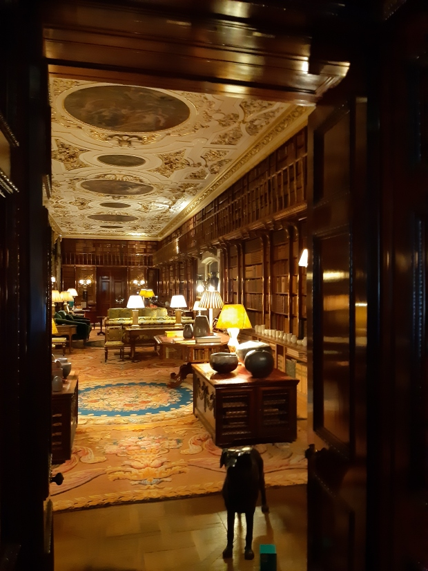 Library in Chatsworth House