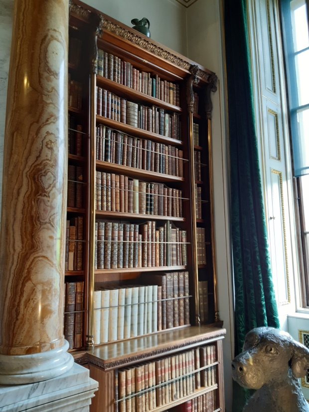 Bookcase in Chatsworth House