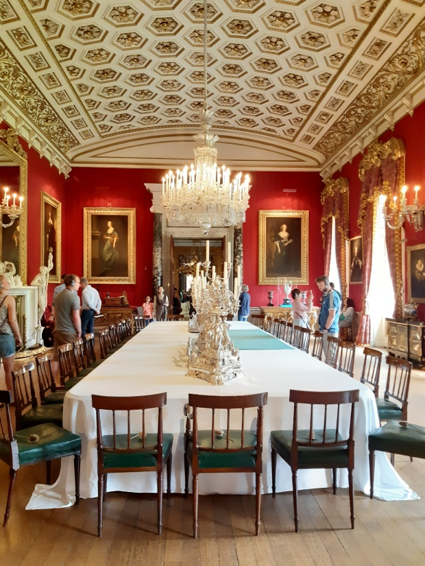 Dining Room in Chatsworth House