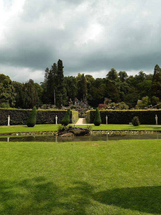 Garden at Chatsworth House