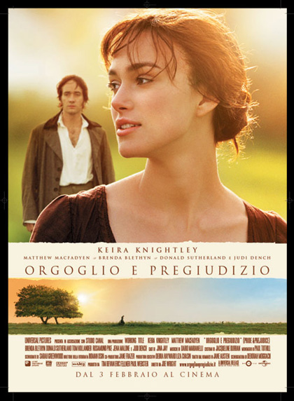 Orgoglio e Pregiudizio 2005- Jane Austen