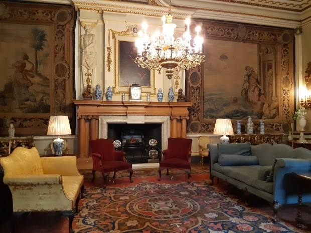 Lyme Park - inside - living room