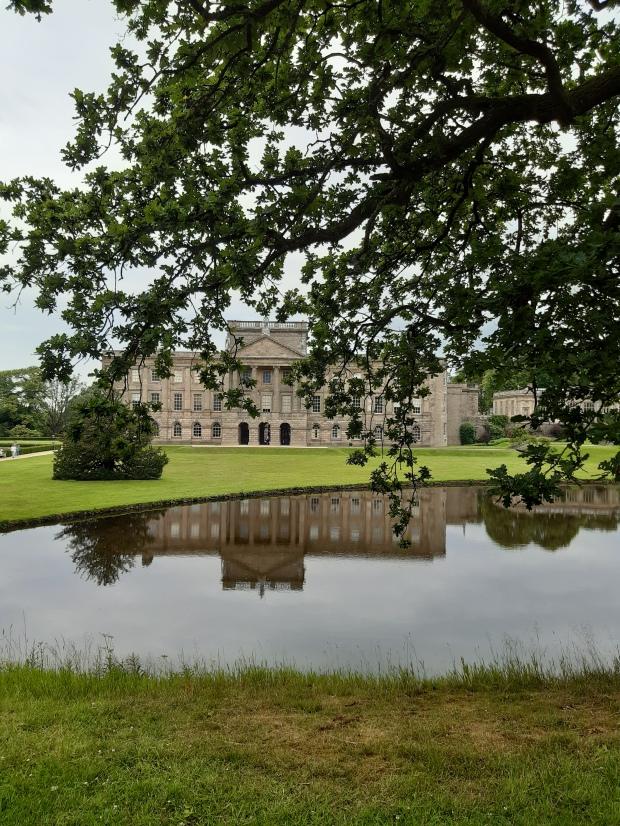 Lyme Park - Pemberley - lake - lago
