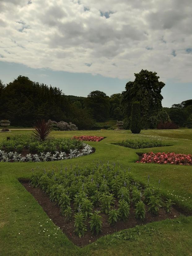 Lyme Park - Pemberley - garden - giardino