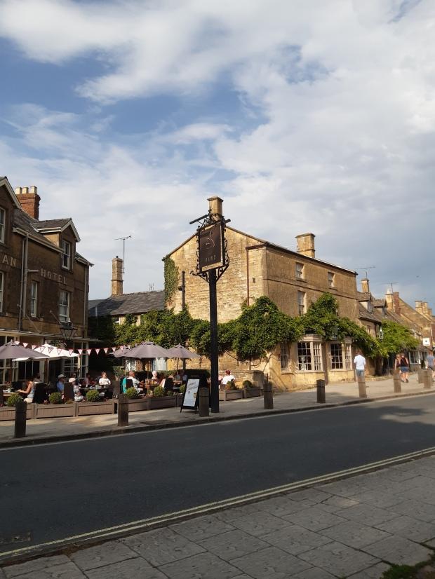 Villaggio di Broadway nel Worcestershire - Cotswolds